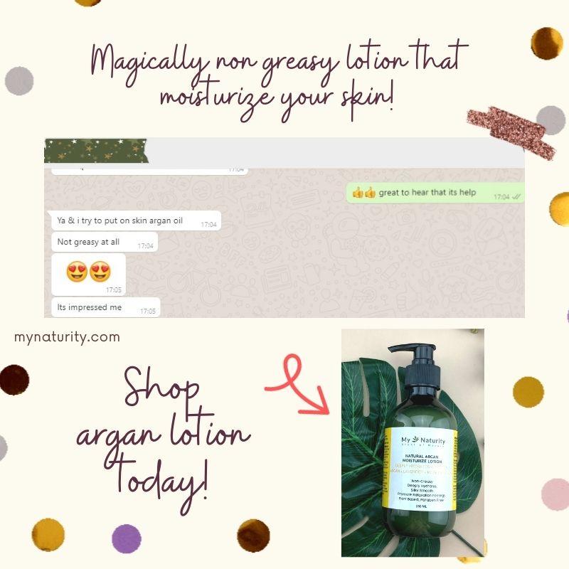 Argan lotion review
